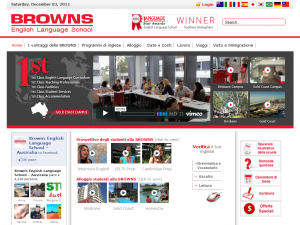 BROWNS ELS, Scuola di inglese in Australia