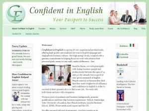 Confident in English