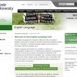 Keele University English Language Unit