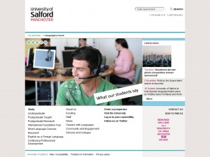 University of Salford School of Languages