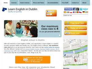 Learn English in Dublin