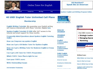 Online Tutor For English