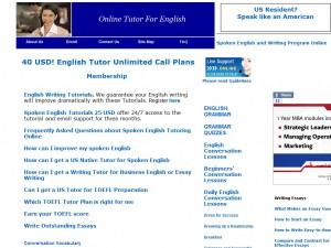 Online Tutor For English
