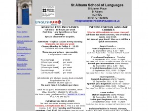 St. Albans School of Languages