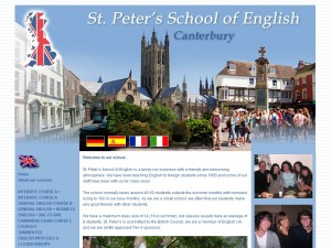 St. Peter's School of English