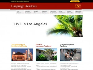 University of Southern California-Language Academy