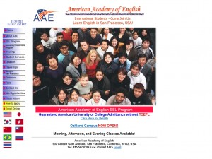 American Academy of English