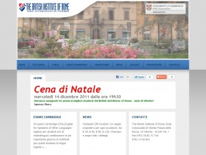 The British Institute of Rome Sede di Viterbo