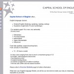 Capital School of English (Edinburgh)