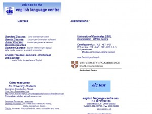ELC – English Language Centre