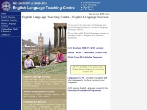 English Language Teaching Centre (ELTC), University of Edinburgh