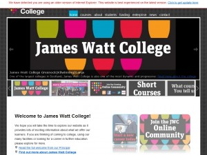 James Watt College of Further & Higher Education
