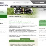 Keele University English Language Unit