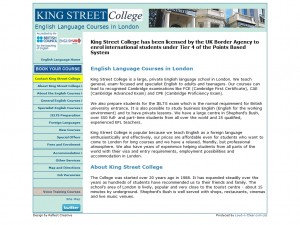 King Street College