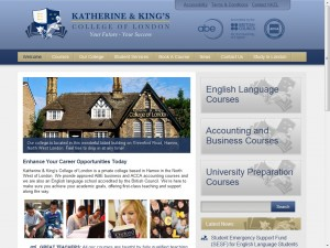 Katherine & Kings College of London