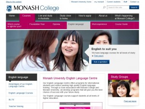 Monash University English Language Centre