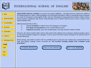 MSD International School of English