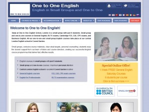 One to One English