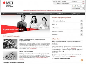 RMIT English Worldwide