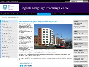 University of Sheffield ELT