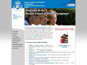 Boston School of English