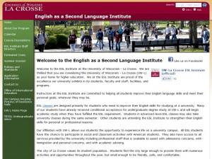 ESL Institute – University of Wisconsin